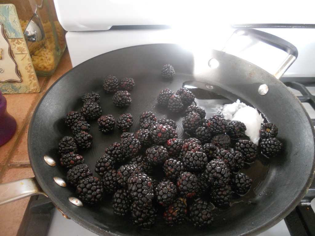 Blackberry Lemon Sauce