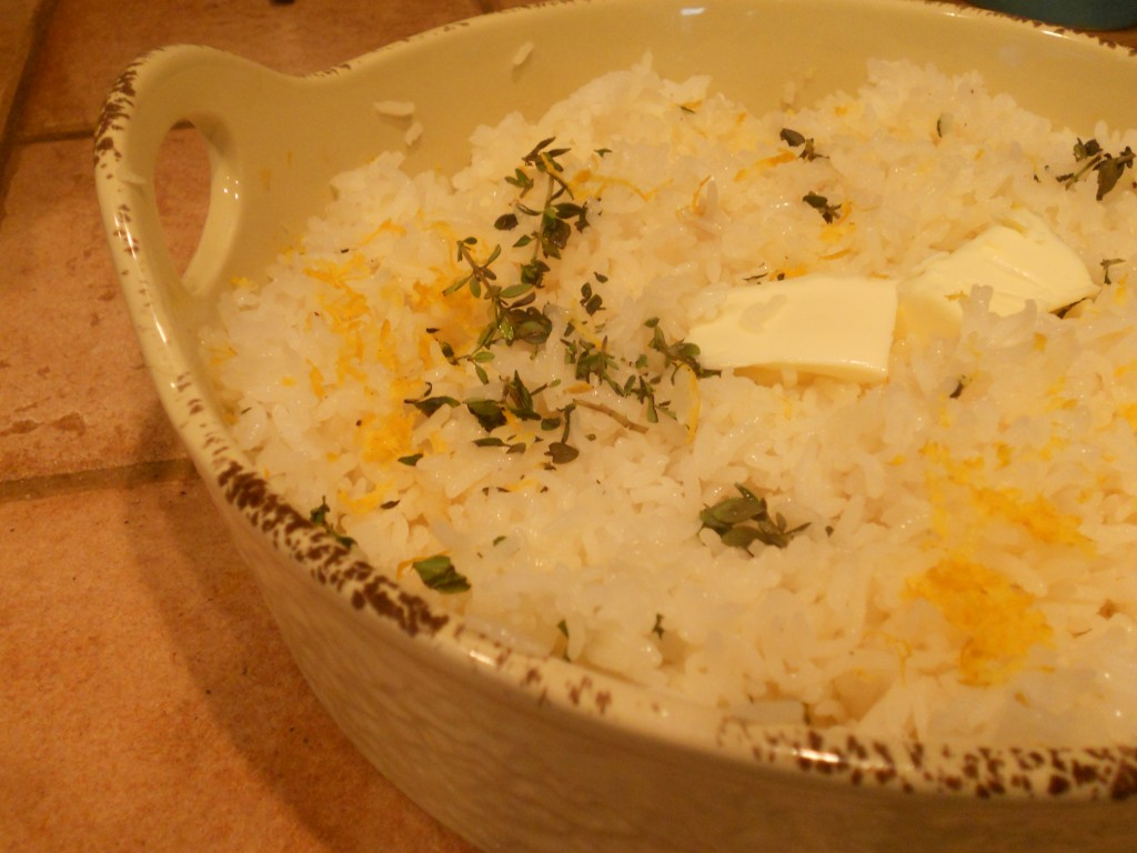 Orange and Thyme Basmatti Rice