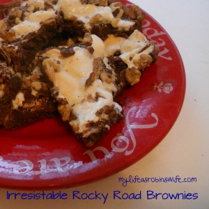 Irresistable Rocky Road Brownies