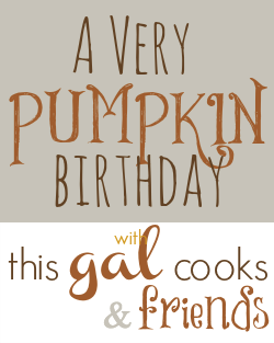 A Very Pumpkin Birthday