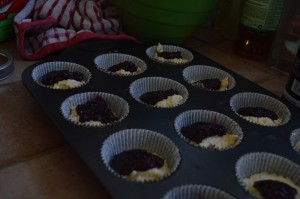 Sweet Corn and Berry Muffins by MyLifeAsRobinsWife.com