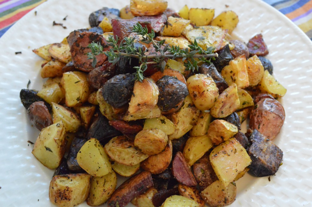 Oven Roasted Potatoes with Herbs and Lemon