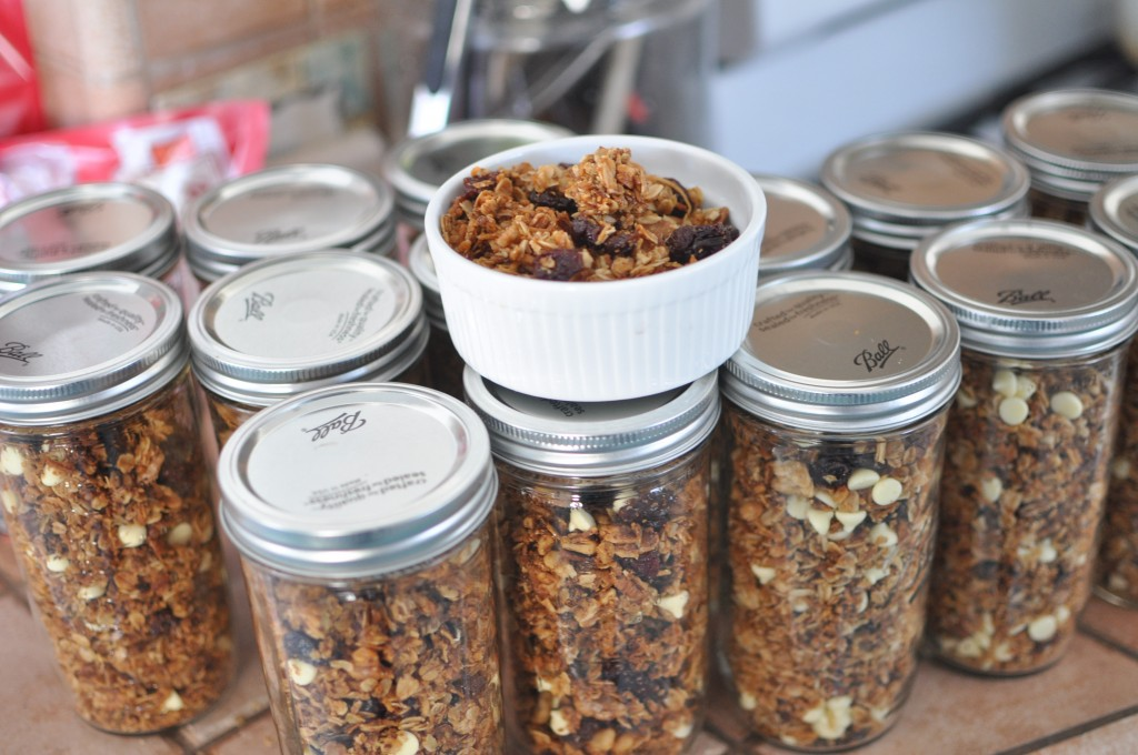 Walnut, Pecan and Dried Cherry Granola by MyLifeAsRobinsWife.com
