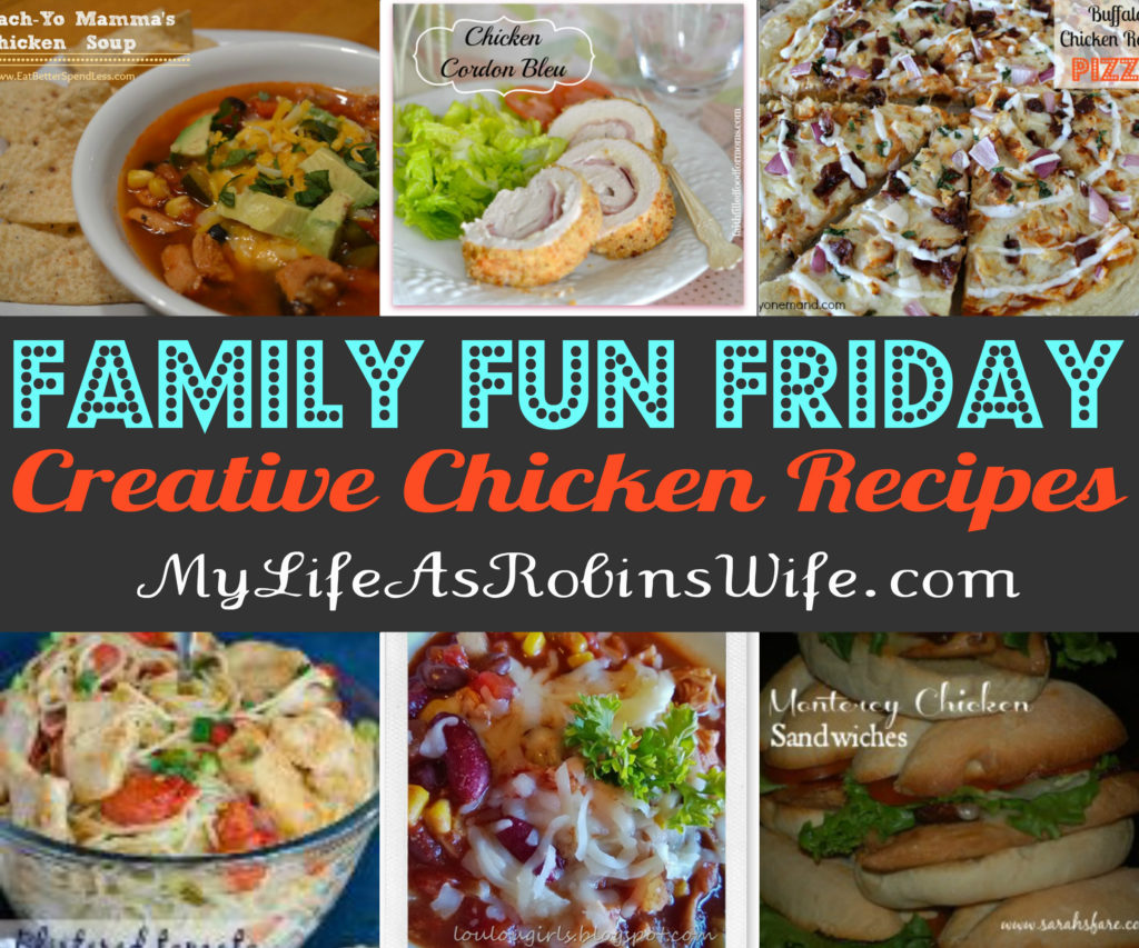 Family Fun Friday - Featuring Family Fun Recipes 02.13.2014 by MyLifeAsRobinsWife.com