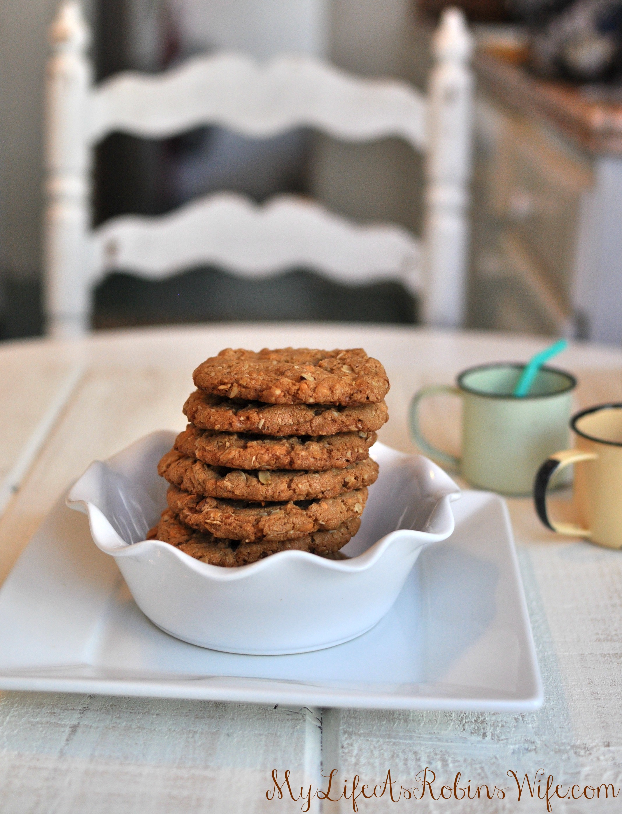 Butterscotch, Toffee and Oat Cookies on MyLifeAsRobinsWife.com