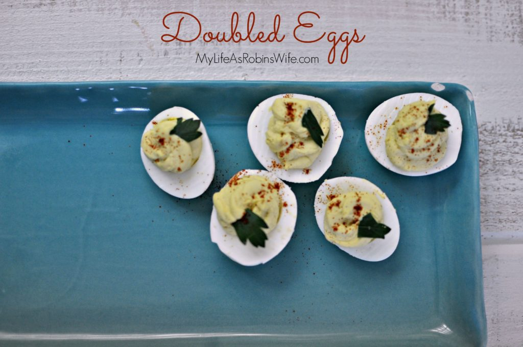 Doubled Eggs – A family favorite!