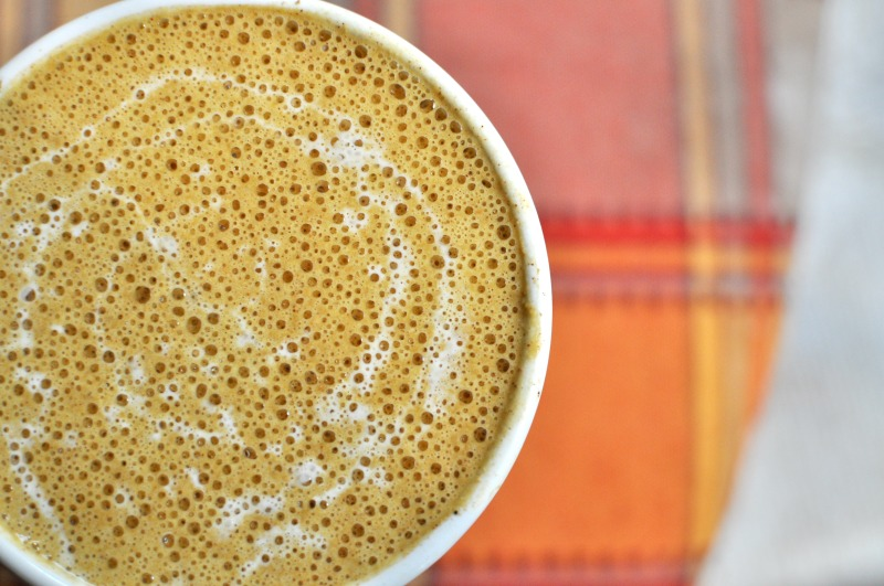 Pumpkin Spice Cashew Coffee Latte