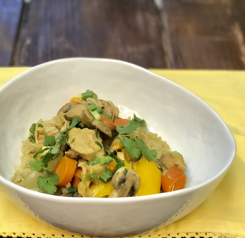 Green Curry Chicken and Veggies